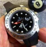 1600649 thum 1 - 大人気 ROLEX ロレックス エクスプローラーII 16570 自動巻き 男性用腕時計 4針 日付表示 ブラック高級感溢れるデザイン 最新作